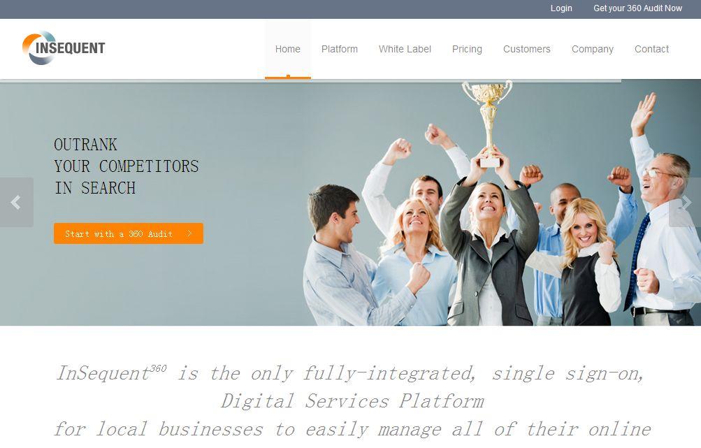 InSequent 网站基于cakePHP框架开发,为商业客户提供网站优化,网络营销,优惠券发放等服务。